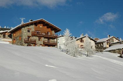 Chalet Charmettes en hiver